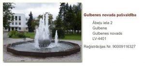 Gulbenes novada ADTI datu iesniegšana un datu saņemšana