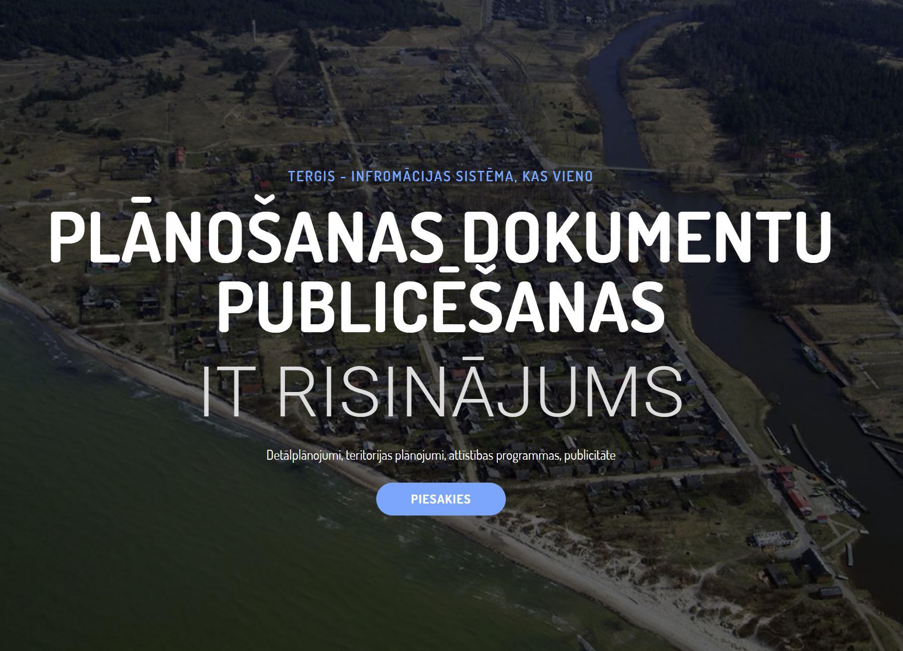 Read more about the article Plānošanas un publiskās apspriešanas platforma tergis.lv
